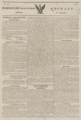 Middelburgsche Courant 1844-09-28