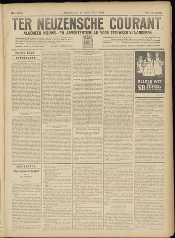 Ter Neuzensche Courant. Algemeen Nieuws- en Advertentieblad voor Zeeuwsch-Vlaanderen / Neuzensche Courant ... (idem) / (Algemeen) nieuws en advertentieblad voor Zeeuwsch-Vlaanderen 1930-10-13