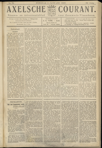 Axelsche Courant 1937-01-05