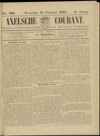 Axelsche Courant 1891-02-18