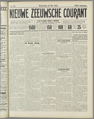 Nieuwe Zeeuwsche Courant 1915-05-20