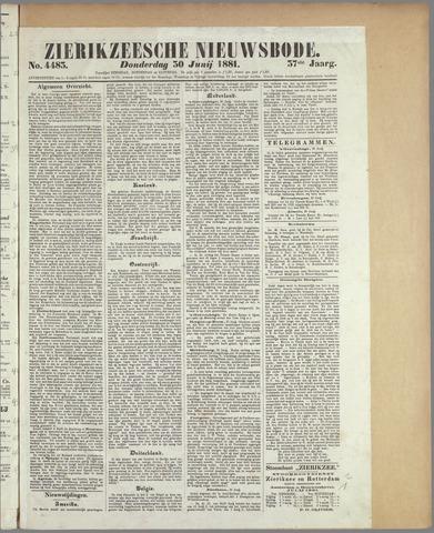 Zierikzeesche Nieuwsbode 1881-06-30