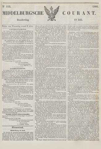 Middelburgsche Courant 1866-07-19