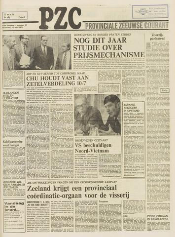 Provinciale Zeeuwse Courant 1973-04-25