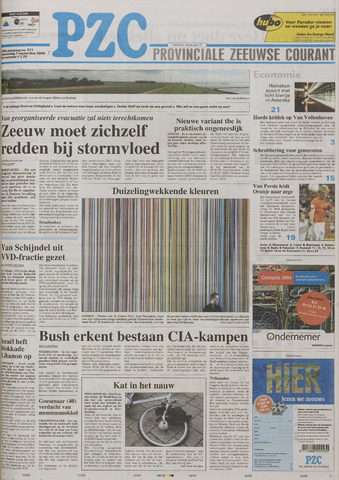 Provinciale Zeeuwse Courant 2006-09-07