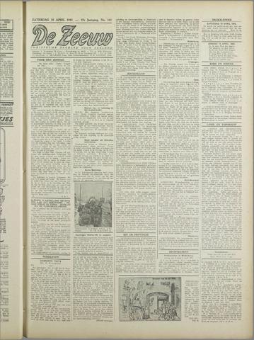 De Zeeuw. Christelijk-historisch nieuwsblad voor Zeeland 1943-04-10