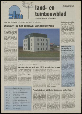 Zeeuwsch landbouwblad ... ZLM land- en tuinbouwblad 1991-10-11