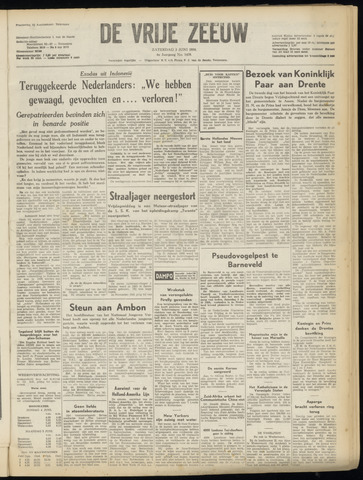de Vrije Zeeuw 1950-06-03