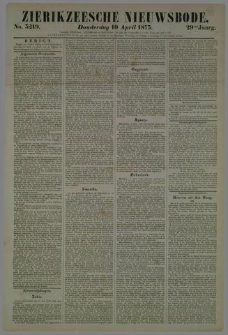 Zierikzeesche Nieuwsbode 1873-04-10