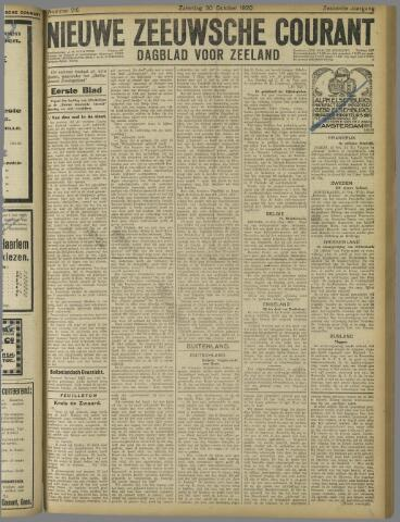 Nieuwe Zeeuwsche Courant 1920-10-30