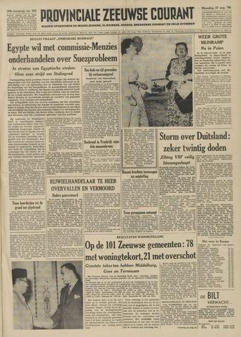 Provinciale Zeeuwse Courant 1956-08-27