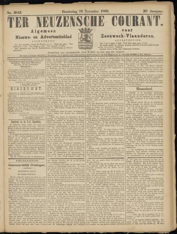 Ter Neuzensche Courant. Algemeen Nieuws- en Advertentieblad voor Zeeuwsch-Vlaanderen / Neuzensche Courant ... (idem) / (Algemeen) nieuws en advertentieblad voor Zeeuwsch-Vlaanderen 1899-11-16
