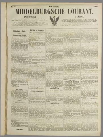 Middelburgsche Courant 1908-04-09