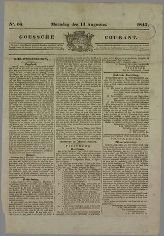 Goessche Courant 1843-08-14