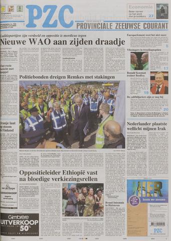 Provinciale Zeeuwse Courant 2005-06-09