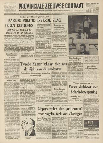 Provinciale Zeeuwse Courant 1960-10-28