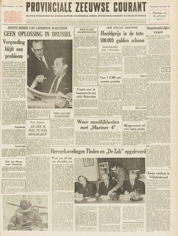 Provinciale Zeeuwse Courant 1964-12-09