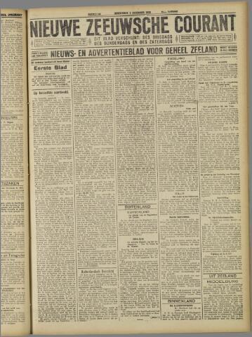 Nieuwe Zeeuwsche Courant 1925-12-03