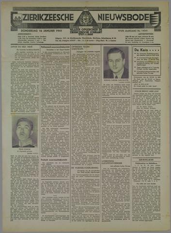 Zierikzeesche Nieuwsbode 1941-01-16