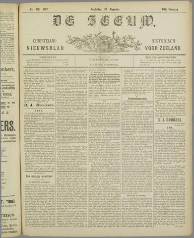 De Zeeuw. Christelijk-historisch nieuwsblad voor Zeeland 1897-08-26