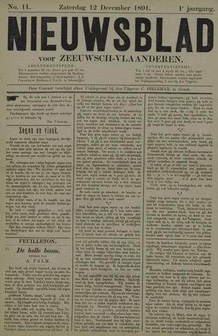 Nieuwsblad voor Zeeuwsch-Vlaanderen 1891-12-12
