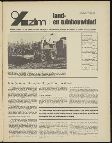 Zeeuwsch landbouwblad ... ZLM land- en tuinbouwblad 1971-10-15