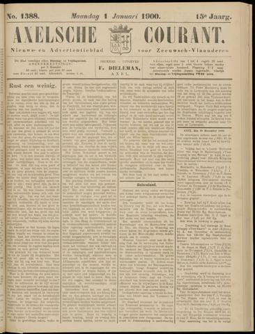 Axelsche Courant 1900