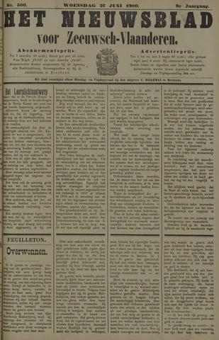 Nieuwsblad voor Zeeuwsch-Vlaanderen 1900-06-27