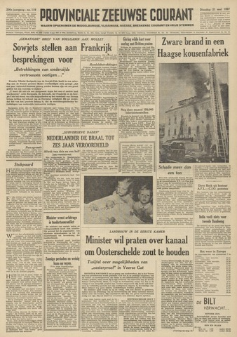 Provinciale Zeeuwse Courant 1957-05-21