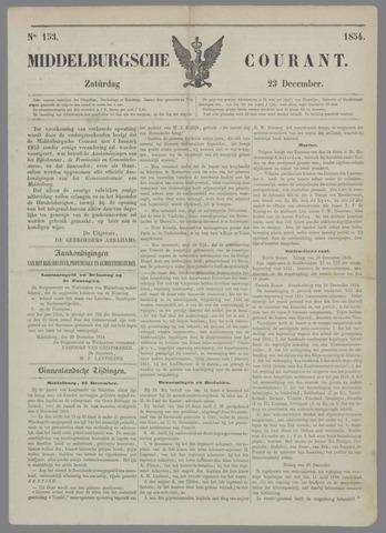 Middelburgsche Courant 1854-12-23