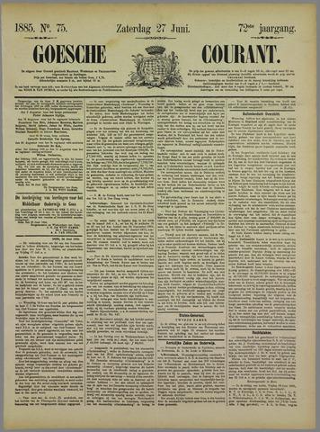 Goessche Courant 1885-06-27