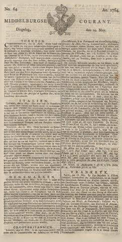 Middelburgsche Courant 1764-05-29