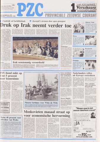 Provinciale Zeeuwse Courant 1990-09-17