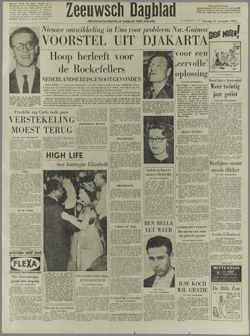 Zeeuwsch Dagblad 1961-11-21
