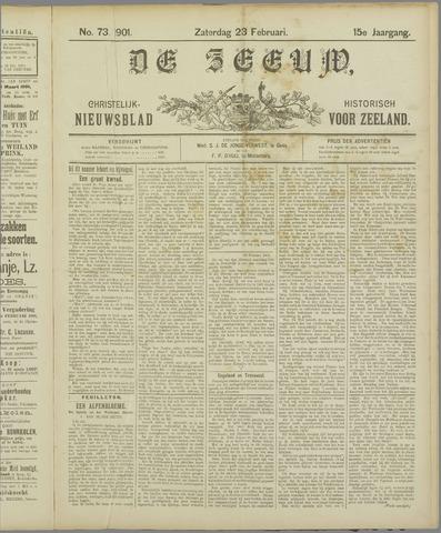 De Zeeuw. Christelijk-historisch nieuwsblad voor Zeeland 1901-02-23