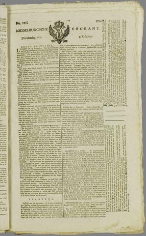 Middelburgsche Courant 1810-10-04