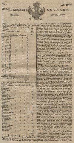 Middelburgsche Courant 1775-01-10