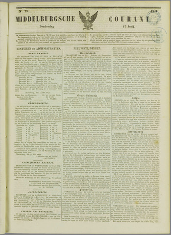Middelburgsche Courant 1847-06-17