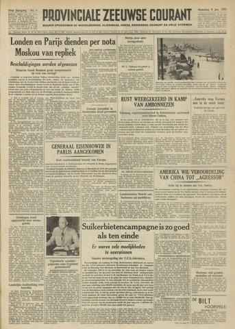 Provinciale Zeeuwse Courant 1951-01-08