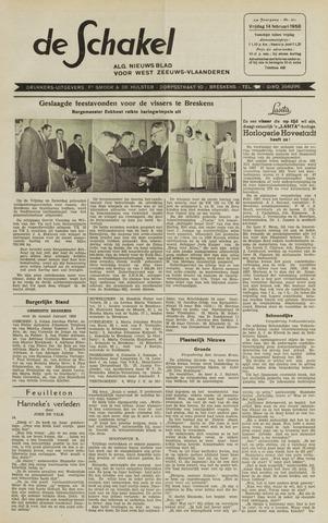 De Schakel 1958-02-14
