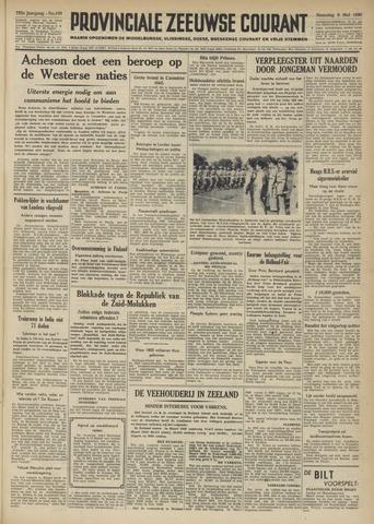 Provinciale Zeeuwse Courant 1950-05-08
