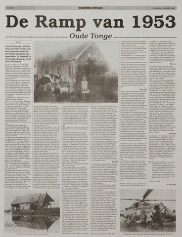 Watersnood documentatie 1953 - kranten 2002-10-11
