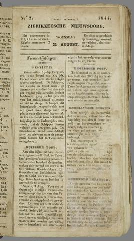 Zierikzeesche Nieuwsbode 1844-08-21