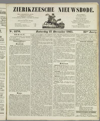 Zierikzeesche Nieuwsbode 1865-12-23