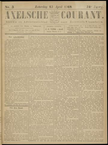 Axelsche Courant 1918-04-13
