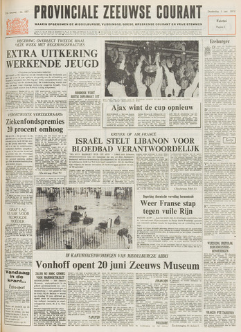 Provinciale Zeeuwse Courant 1972-06-01