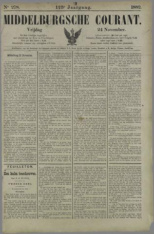 Middelburgsche Courant 1882-11-24