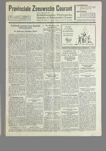 Provinciale Zeeuwse Courant 1940-09-13