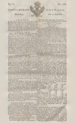 Middelburgsche Courant 1758-08-31