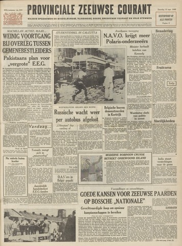Provinciale Zeeuwse Courant 1962-09-15